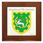 King of the Outlands Framed Tile