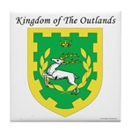 King of the Outlands Tile Coaster