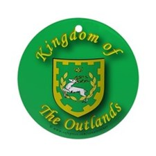 Outlands Ornament (Round)