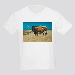 Longhorn and Windmill T-Shirt