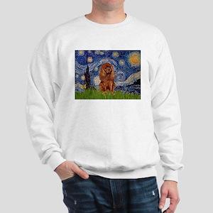 Starry Night & Ruby Cavalier Sweatshirt