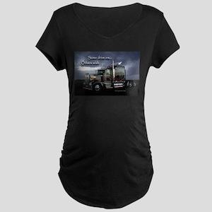 Truckers Maternity Dark T-Shirt