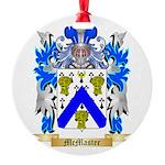 McMaster Round Ornament