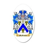 McMaster 35x21 Oval Wall Decal