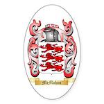 McMahon Sticker (Oval 10 pk)