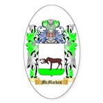 McMacken Sticker (Oval 50 pk)