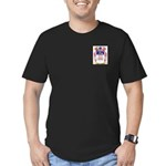 McLysaught Men's Fitted T-Shirt (dark)