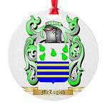 McLugish Round Ornament