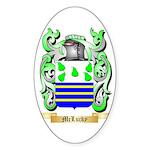 McLucky Sticker (Oval)