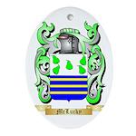 McLucky Oval Ornament