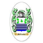 McLuckie Sticker (Oval 50 pk)