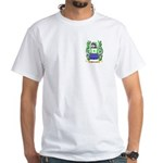 McLucais White T-Shirt