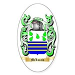 McLucais Sticker (Oval 50 pk)