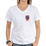 McLoughlin Women's V-Neck T-Shirt
