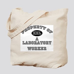 Property of a Laboratory Worker Tote Bag