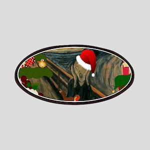 the scream christmas Patch