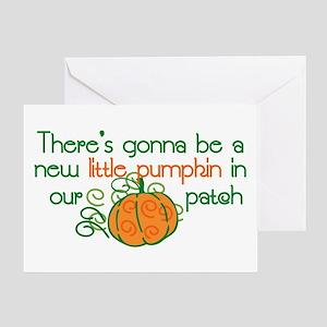 New Pumpkin Greeting Card