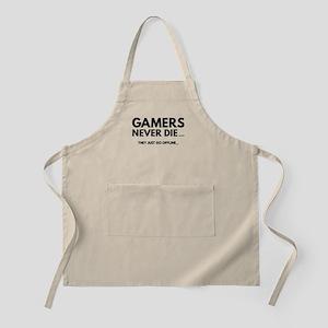 Gamers Never Die Apron