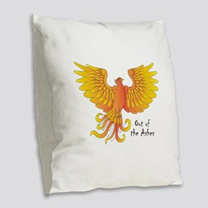 Phoenix Burlap Throw Pillow