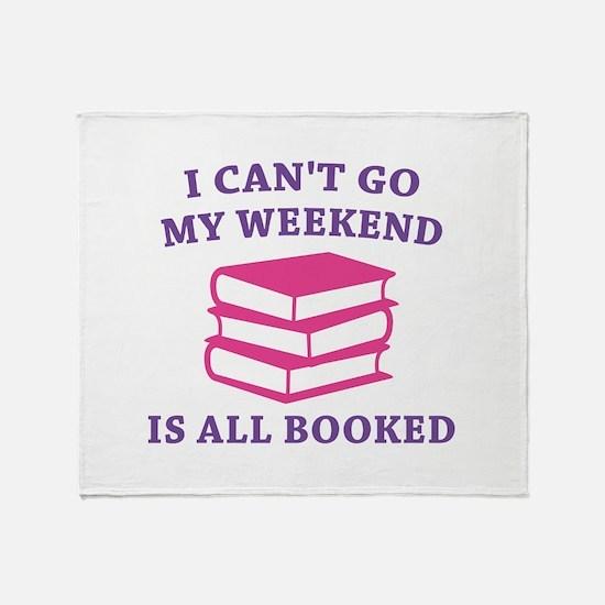 My Weekend Is All Booked Stadium Blanket