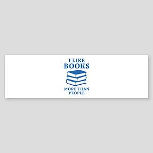 I Like Books Sticker (Bumper)