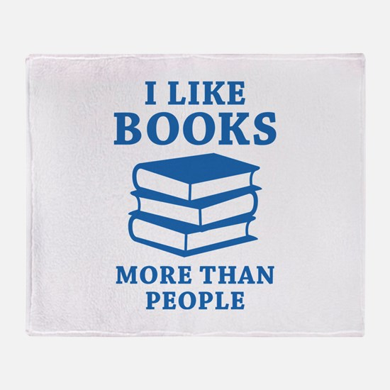I Like Books Stadium Blanket