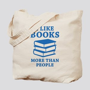 I Like Books Tote Bag