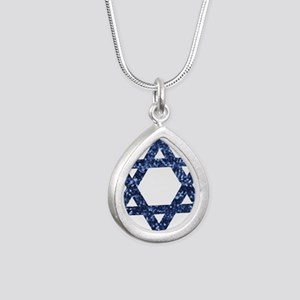 sequin star of david Necklaces