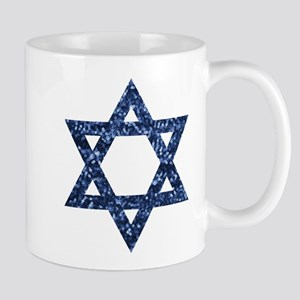 sequin star of david Mugs