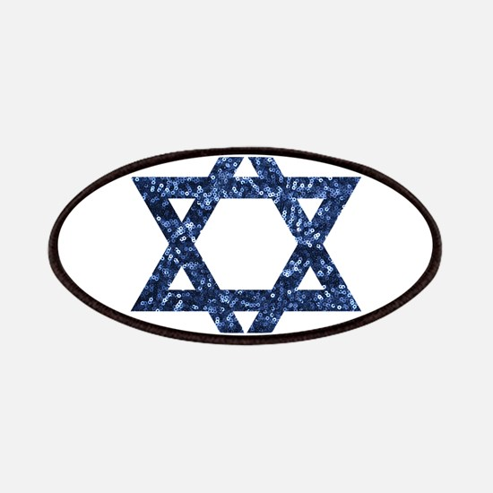 sequin star of david Patch