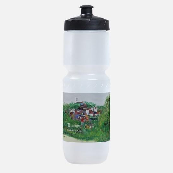Mt. Adams - Cincinnati, Ohio, trendy Sports Bottle