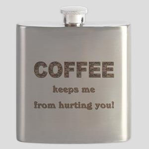 COFFEE KEEPS ME... Flask