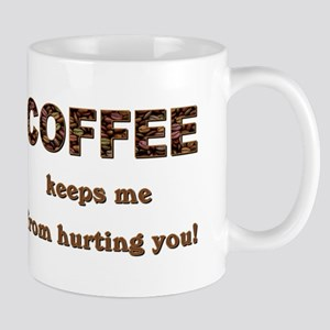 COFFEE KEEPS ME... Mugs