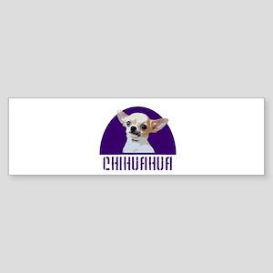 Chihuahua Dog Bumper Sticker