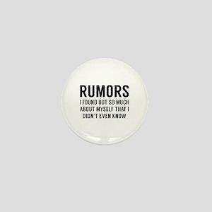 Rumors Mini Button