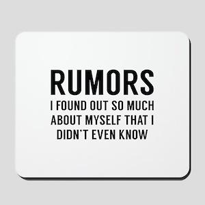 Rumors Mousepad