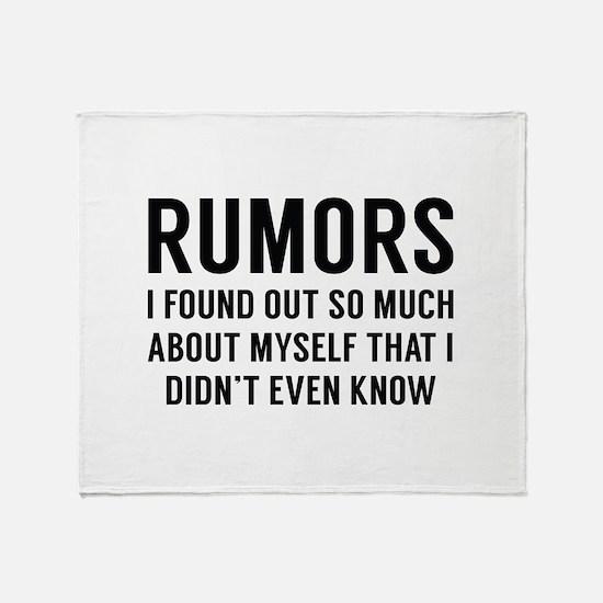 Rumors Stadium Blanket