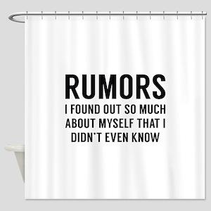 Rumors Shower Curtain