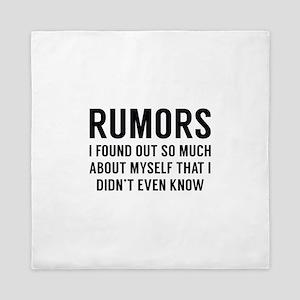 Rumors Queen Duvet