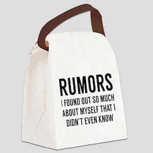 Rumors Canvas Lunch Bag