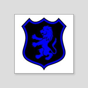 """L.E.O. Shield Square Sticker 3"""" x 3"""""""