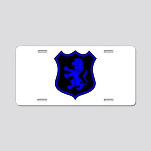 L.E.O. Shield Aluminum License Plate