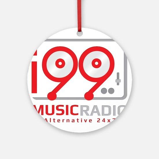 Unique Radio station Round Ornament