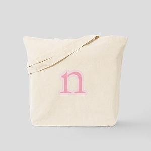 Initial n Tote Bag