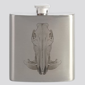 Hog skull Flask