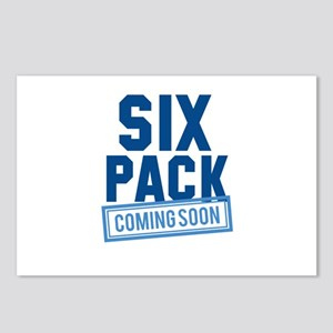 Six Pack Coming Soon Postcards (Package of 8)