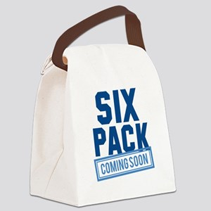 Six Pack Coming Soon Canvas Lunch Bag