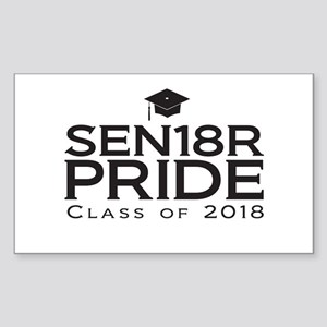 Senior Pride - Class of 2018 Sticker