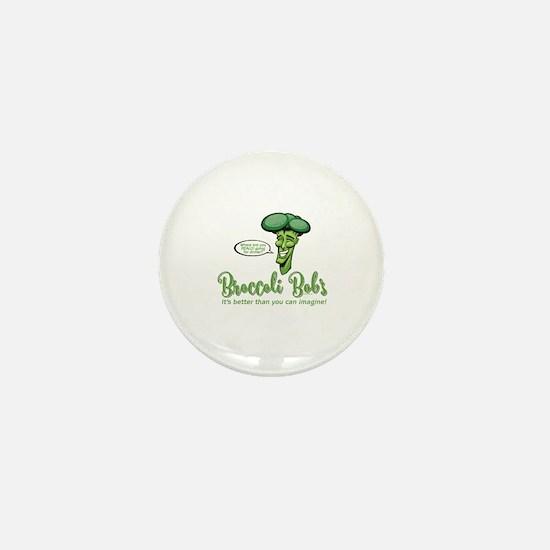Cute Broccoli Mini Button