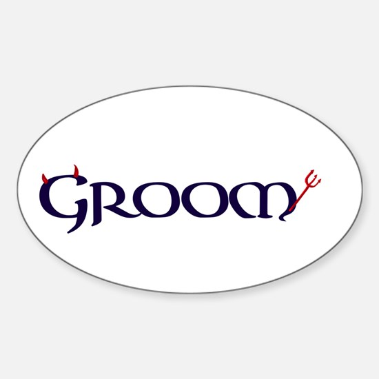 The Groom Decal